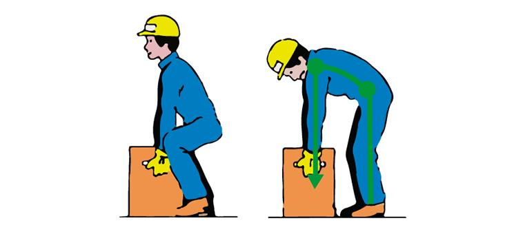 Cómo evitar el dolor de espalda en funcionarios de carga1