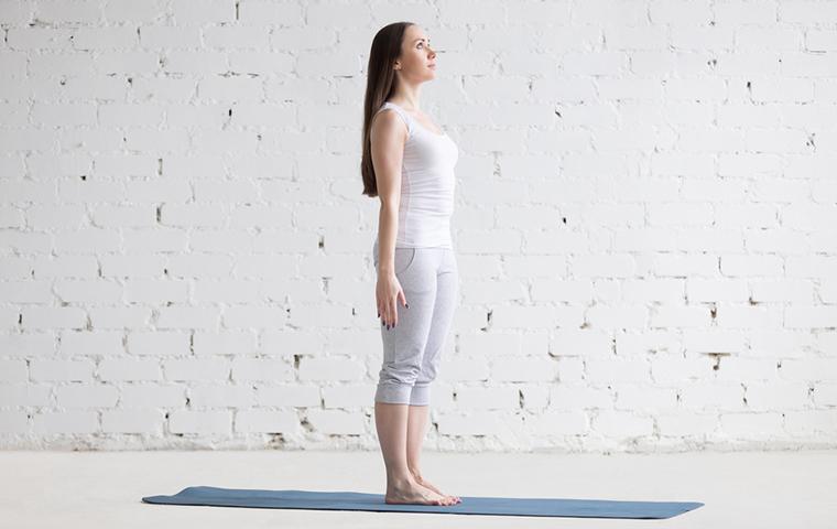 Posturas de Yoga - La Montaña