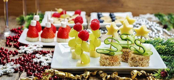 Menús saludables para las fiestas